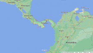 Panama leży w Ameryce Środkowej